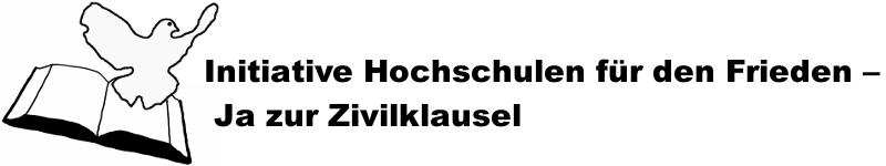 Hochschulen für den Frieden – Ja zur Zivilklausel!